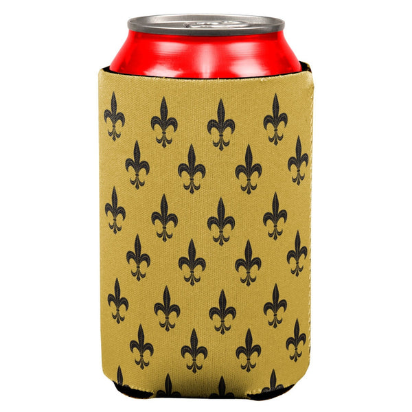Fleur-de-lis All Over Can Cooler
