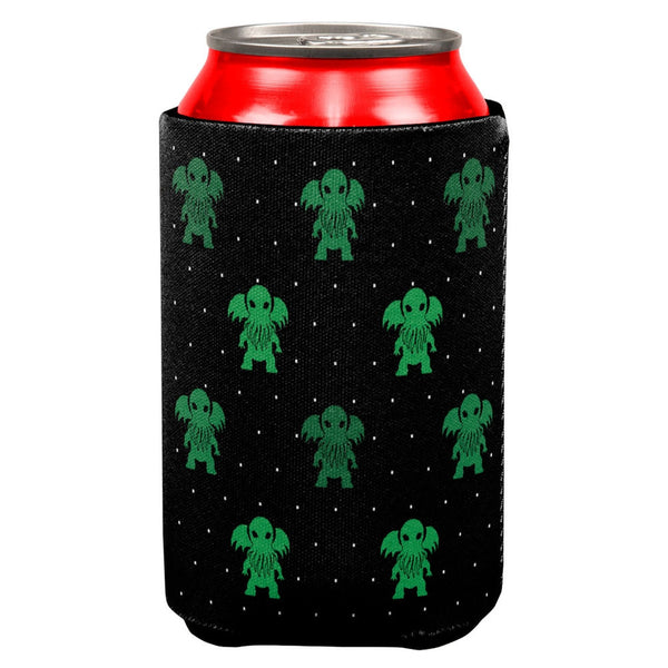 Cthulhu Snowy Lovecraft Can Cooler