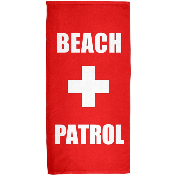 Beach Patrol All Over Bath Towel
