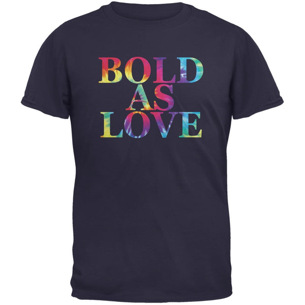 Bold As Love Navy Adult T-Shirt