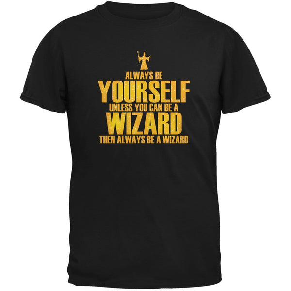Always Be Yourself Wizard Black Youth T-Shirt