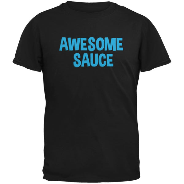 Awesome Sauce Black Adult T-Shirt