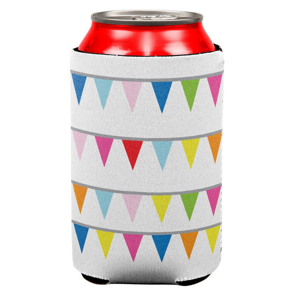 Summer - Pennant Banner Colorful Fun Party Can Cooler