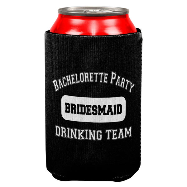 Bridesmaid Bachelorette Party Drinking Team Can Cooler