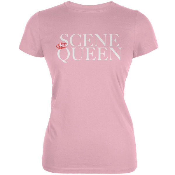 Scene Queen Pink Juniors Soft T-Shirt