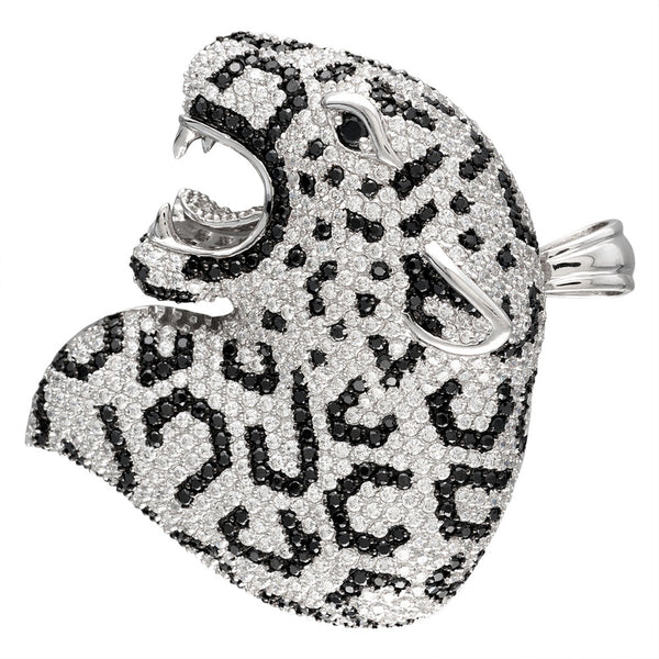 zirconia-studded-tiger-sterling-silver-cuff-bangle