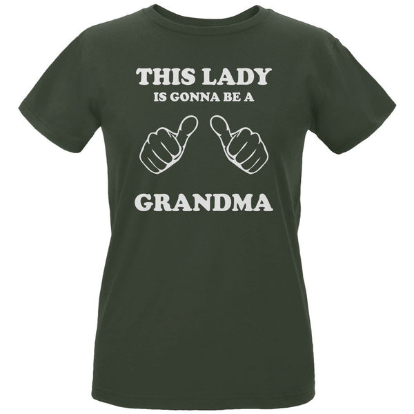 This Lady Gonna be Grandma City Green Women's Organic T-Shirt