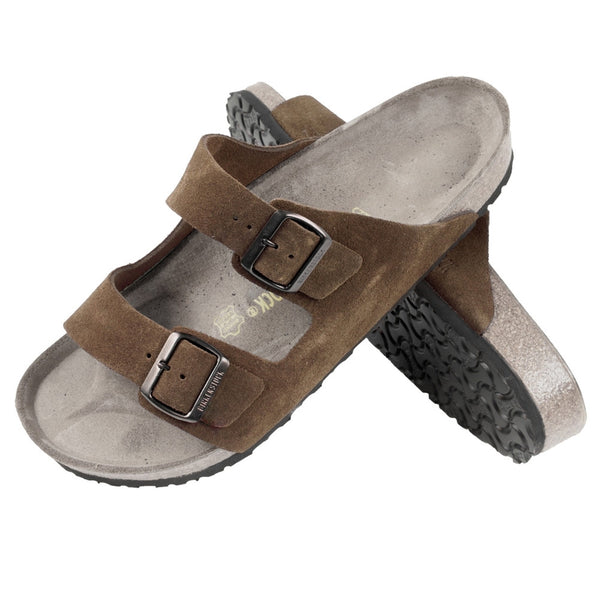 Birkenstock Arizona Brown Suede Sandal