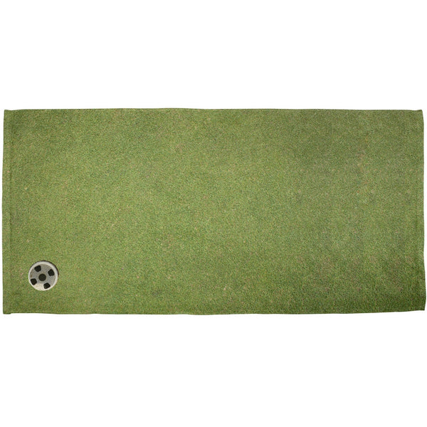 Father's Day - Golf Putting Green All Over Bath Towel