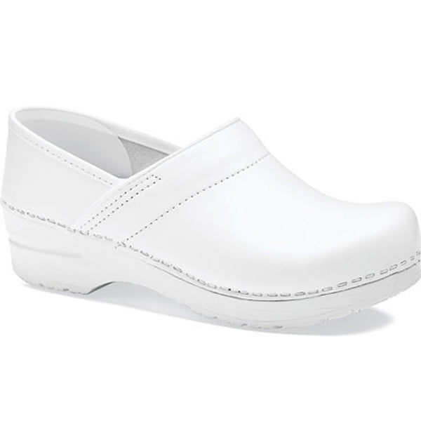 Dansko Professional White Stapled Clogs