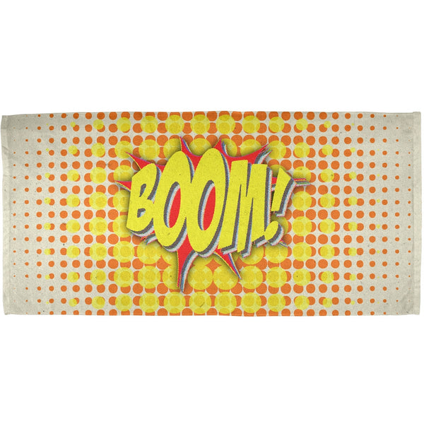 BOOM Comic Book Super Hero All Over Bath Towel