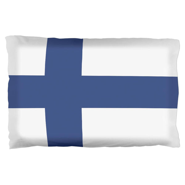Finland Flag Pillow Case