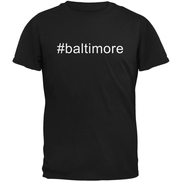#baltimore Black Adult T-Shirt