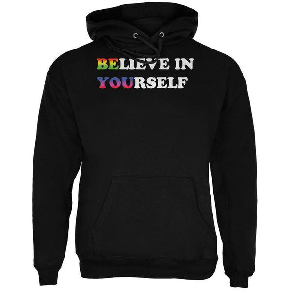 Believe in Yourself Be You LGBT Black Adult Hoodie