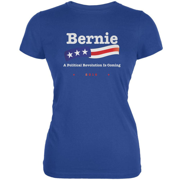 Election 2016 Bernie Sanders Revolution Royal Juniors Soft T-Shirt
