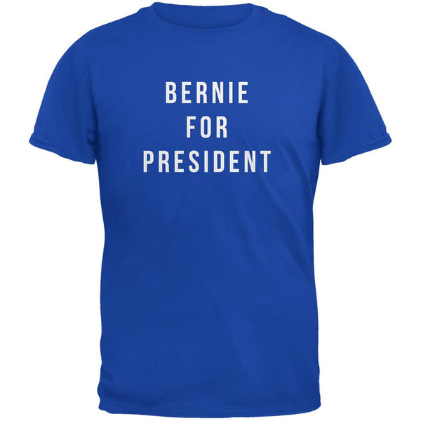 Election 2016 Bernie For President Royal Adult T-Shirt