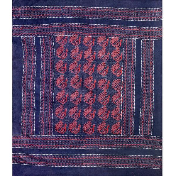 Indian Print - Peacocks Full Tapestry