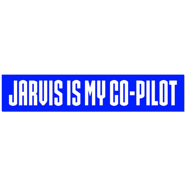 Jarvis is My Copilot Bumper Sticker