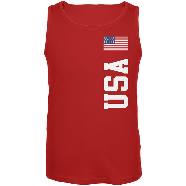 World Cup USA Red Adult Tank Top