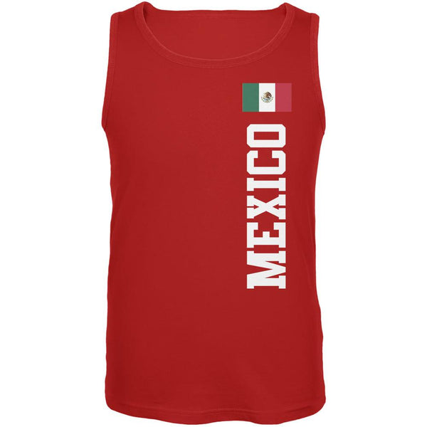 World Cup Mexico Red Adult Tank Top