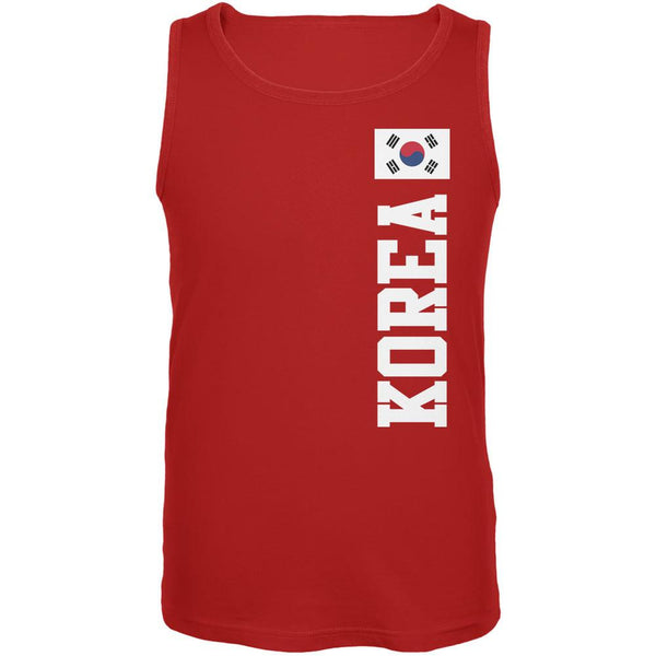 World Cup Korea Red Adult Tank Top