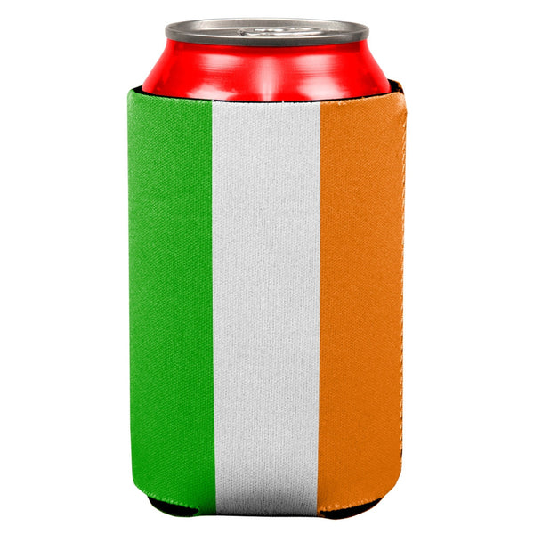 St Patricks Day Irish Flag All Over Can Cooler