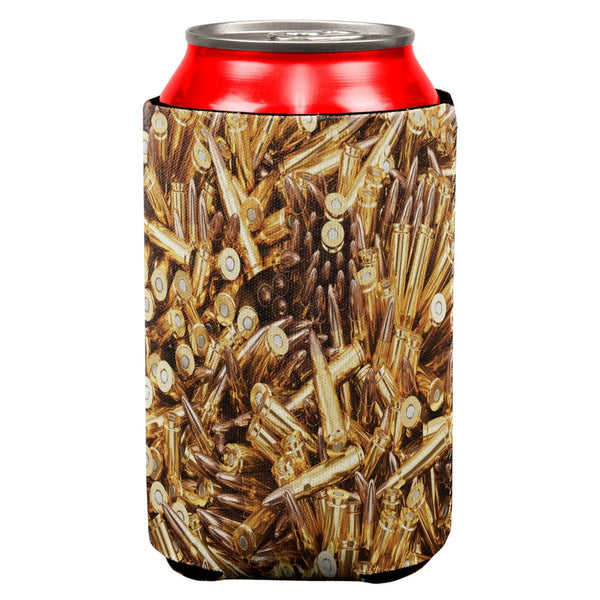 Bullets All Over Can Cooler