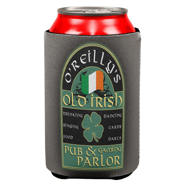 St Patricks Day O'Reilly's Irish Pub All Over Can Cooler