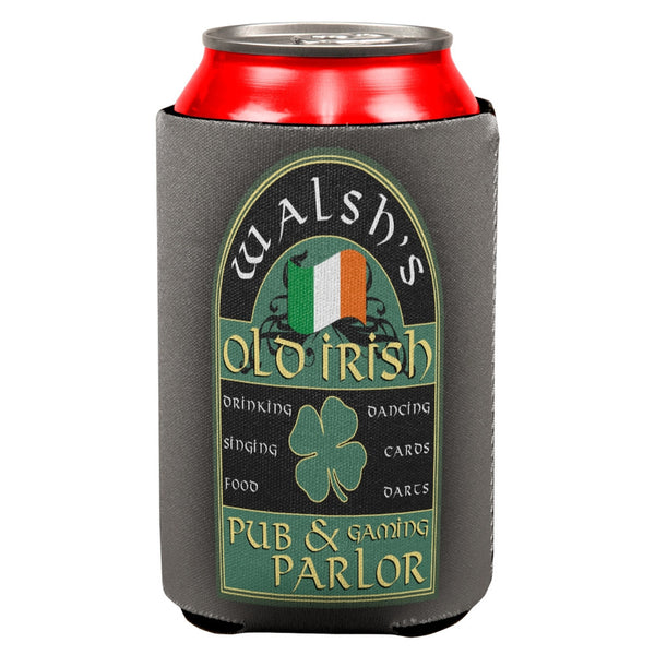 St Patricks Day Walsh's Irish Pub All Over Can Cooler