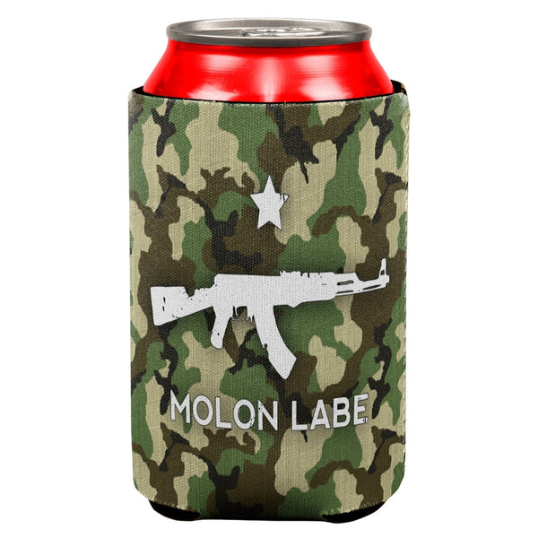 Molon Labe AK47 Jungle Camo All Over Can Cooler