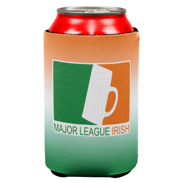 St Patricks Day Major League Irish All Over Can Cooler