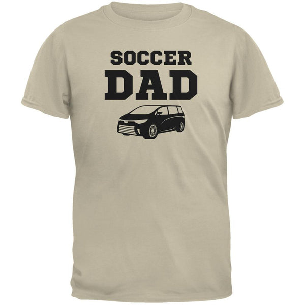 Fathers Day Soccer Dad Sand Adult T-Shirt