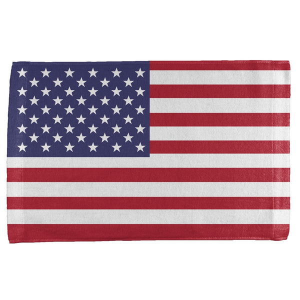 4th of July American Flag All Over Sport Towel