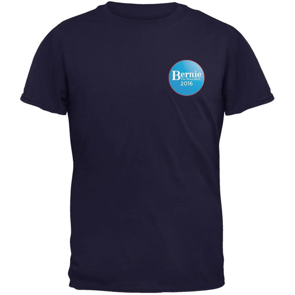 Election 2016 - Bernie Sanders for President Jersey Navy Adult T-Shirt