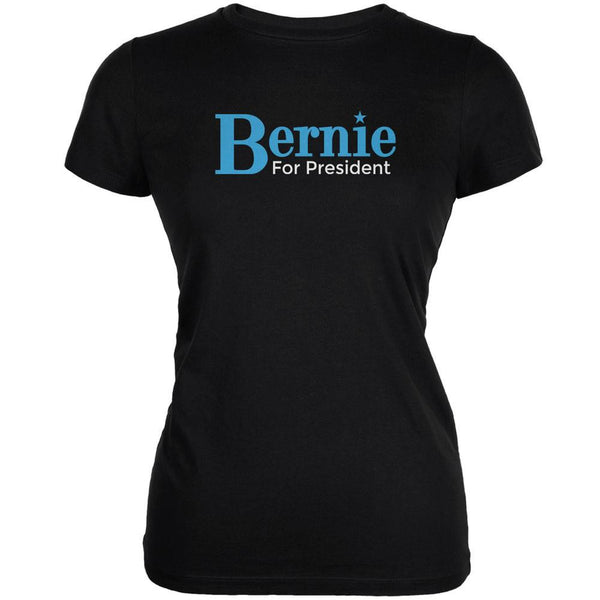 Election 2016 - Bernie Sanders for President Black Juniors Soft T-Shirt