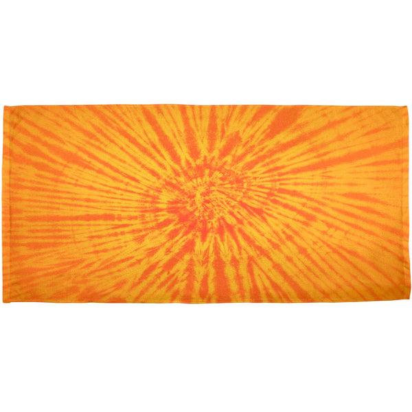 Sunrise Tie Dye All Over Bath Towel
