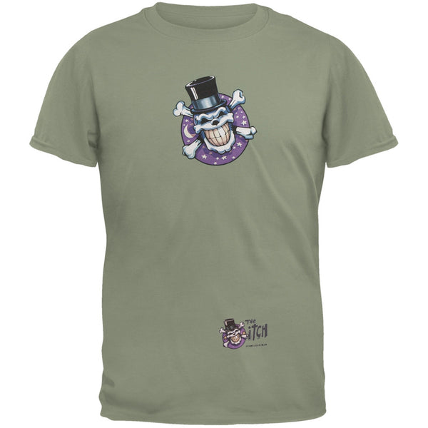Skull & Crossbones Top Hat Logo Adult T-Shirt