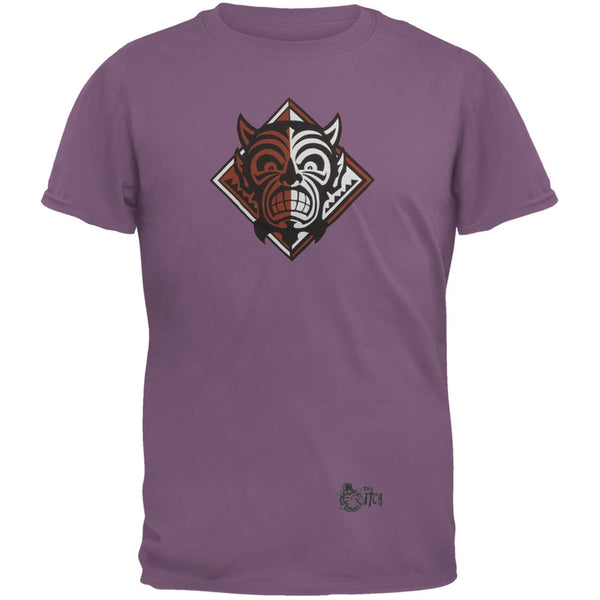Monkey Demon Logo Purple Adult T-Shirt