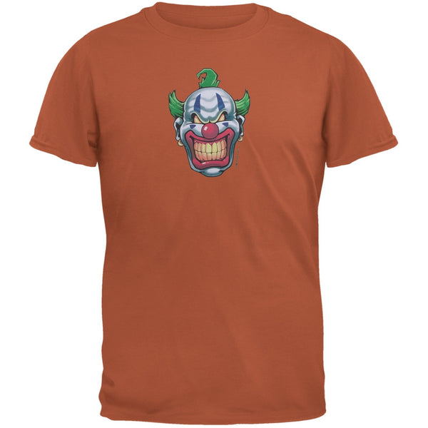 Joker Grinning Red Adult T-Shirt