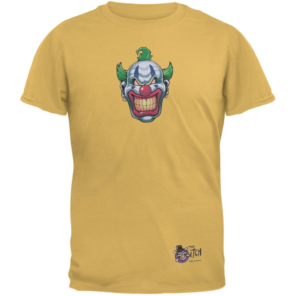 Joker Grinning Gold Adult T-Shirt