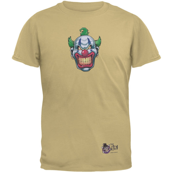 Joker Grinning Sand Adult T-Shirt