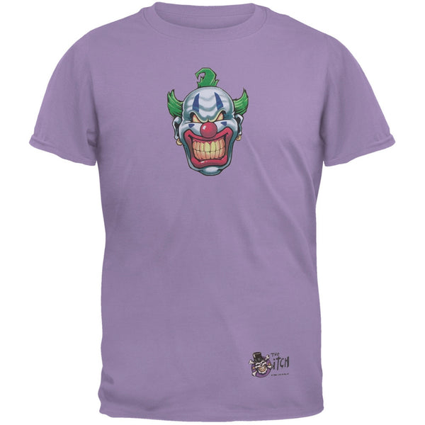 Joker Grinning Purple Adult T-Shirt