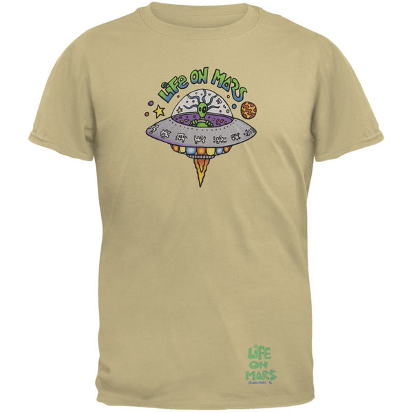 Joey Mars - Life On Mars UFO Sand Adult T-Shirt