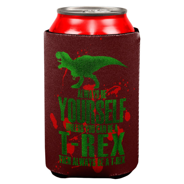 Jurassic - Always Be Yourself T-Rex Attack All Over Can Cooler