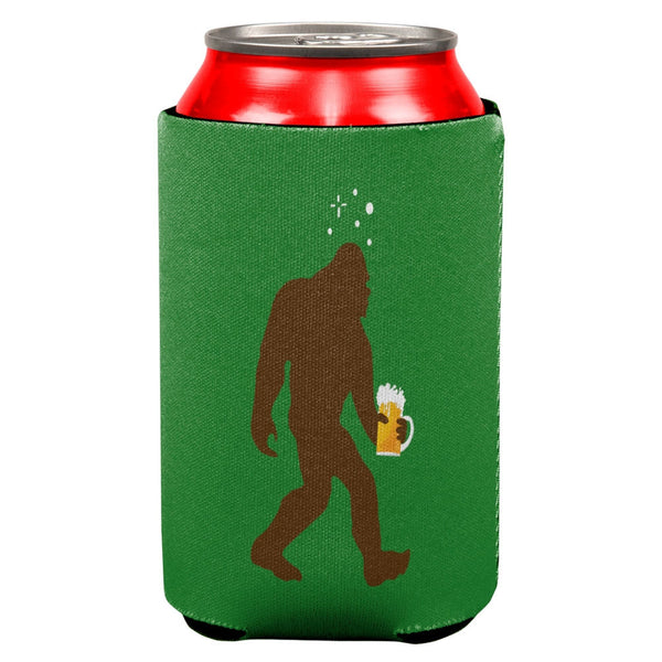 Drunk Sasquatch All Over Can Cooler