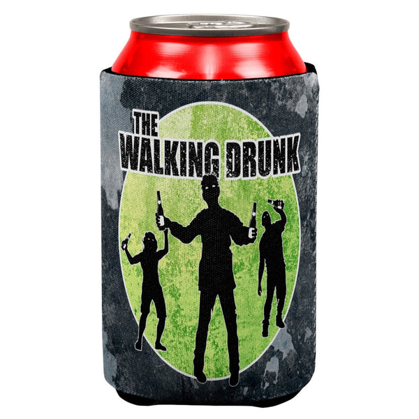 The Walking Drunk All Over Can Cooler