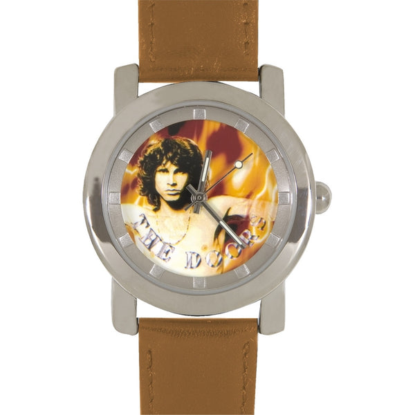 The Doors - Morrison Flames Brown Watch
