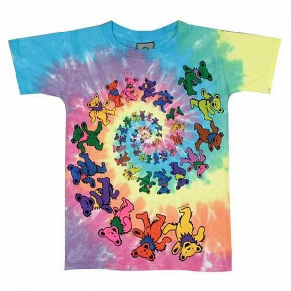 Grateful Dead - Spiral Bears Youth T-Shirt - front view