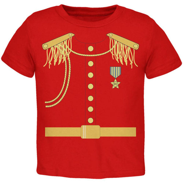 Halloween Prince Charming Costume Red Toddler T-Shirt
