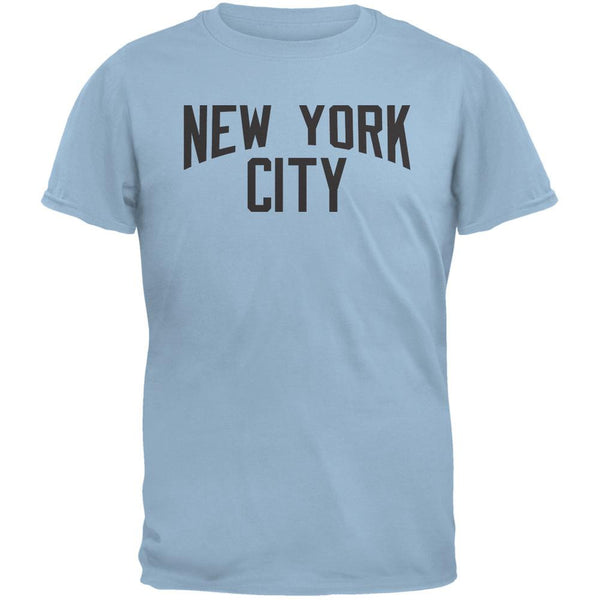 Iconic New York City Light Blue Adult T-Shirt